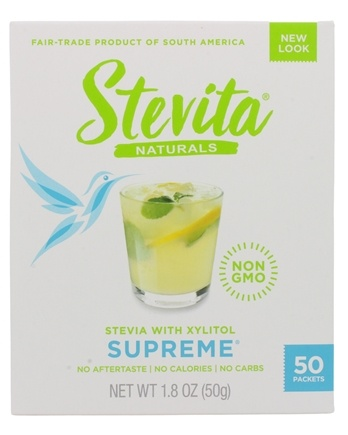 Stevita - Stevia Supreme Sweetener - 50 Packet(s)