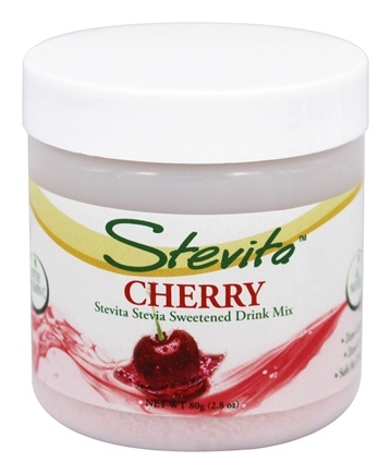 DROPPED: Stevita - Stevia All Natural Sweetened Drink Mix Cherry Flavored - 2.8 oz.