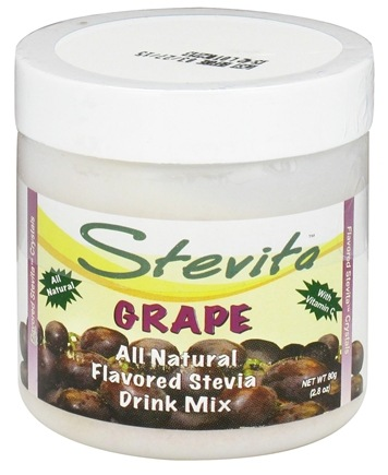 DROPPED: Stevita - Stevia All Natural Drink Mix Spring Grape Flavored - 2.8 oz.
