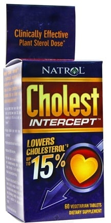 DROPPED: Natrol - Cholest Intercept - 60 Vegetarian Tablets