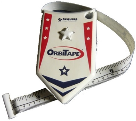 DROPPED: Sequoia Fitness - OrbiTape Body Mass Tape Measure - CLEARANCE PRICED