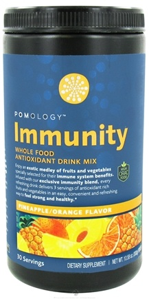 DROPPED: Pomology - Immunity Whole Food Antioxidant Drink Mix Pineapple Orange Flavor - 10.58 oz.