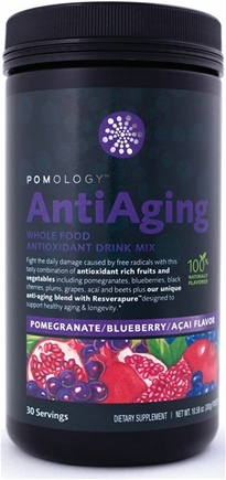 DROPPED: Pomology - AntiAging Whole Food Antioxidant Drink Mix Blueberry Pomegranate Acai Flavor - 10.58 oz.