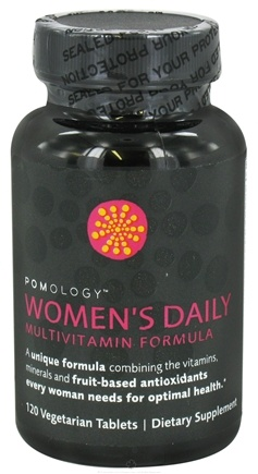DROPPED: Pomology - Women's Daily Multivitamin Formula - 120 Vegetarian Tablets