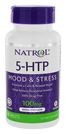 Natrol - 5-HTP TR Time Release 100 mg. - 45 Tablets