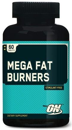 DROPPED: Optimum Nutrition - Mega Fat Burners - 60 Tablets CLEARANCE PRICED
