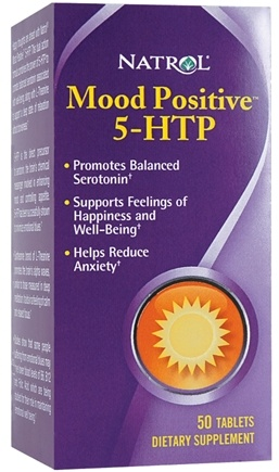 DROPPED: Natrol - Mood Positive 5-HTP - 50 Tablets CLEARANCE PRICED