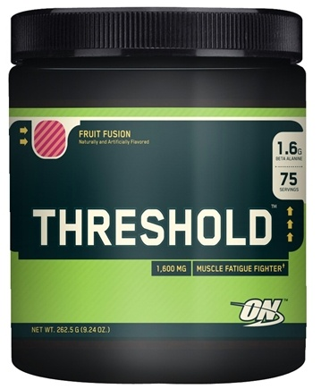 DROPPED: Optimum Nutrition - Threshold Fruit Fusion 1600 mg. - 9.24 oz.