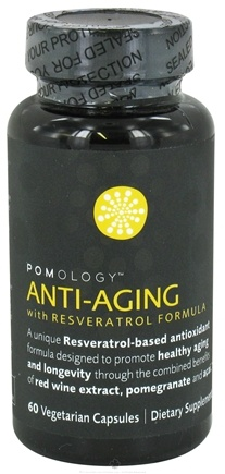 DROPPED: Pomology - Anti-Aging With Resveratrol Formula - 60 Vegetarian Capsules