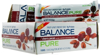 DROPPED: Balance - Fruit & Nut Energy Bar Pure Cherry Pecan - 1.58 oz.