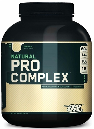 DROPPED: Optimum Nutrition - Natural Pro Complex Vanilla - 4.6 lbs. CLEARANCED PRICED