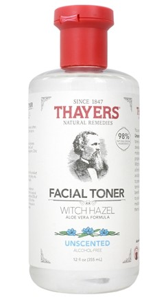 Thayers - Unscented Witch Hazel with Aloe Vera Alcohol-Free Toner - 12 oz.