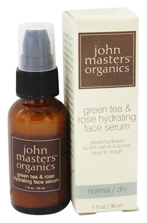 DROPPED: John Masters Organics - Face Serum Hydrating Green Tea and Rose - 1 oz.