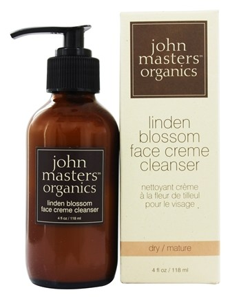 DROPPED: John Masters Organics - Face Cream Cleanser Linden Blossom - 4 oz.