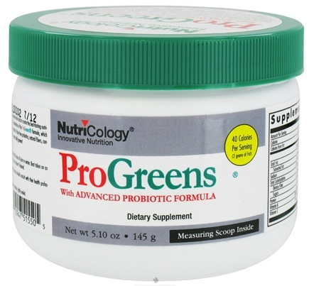 DROPPED: Nutricology - ProGreens Powder - 5.1 oz. CLEARANCE PRICED