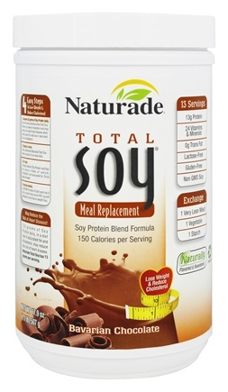 Naturade - Total Soy Meal Replacement Bavarian Chocolate - 17.9 oz.