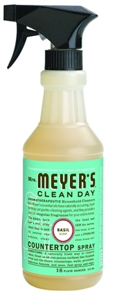 DROPPED: Mrs. Meyer's - Clean Day Countertop Spray Basil - 16 oz.