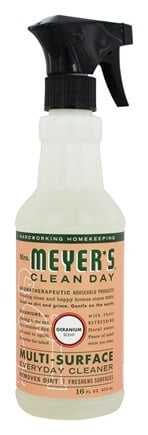 Mrs. Meyer's - Clean Day Multi-Surface Everyday Cleaner Geranium - 16 oz.