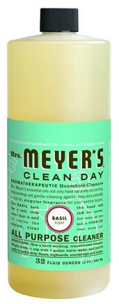 DROPPED: Mrs. Meyer's - Clean Day All Purpose Cleaner Basil - 32 oz.
