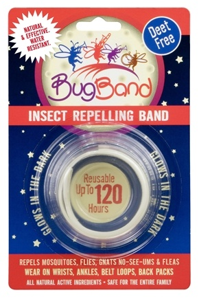 DROPPED: Bug Band - Deet Free Insect Repelling Band Glow in the Dark - 1 Band(s) CLEARANCED PRICED