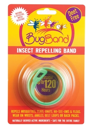 DROPPED: Bug Band - Deet Free Insect Repelling Band Light Green - 1 Band(s) CLEARANCE PRICED