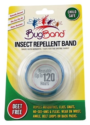 Bug Band - Deet Free Insect Repelling Band Blue - 1 Band(s)