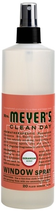 DROPPED: Mrs. Meyer's - Clean Day Window Spray Geranium - 20 oz.
