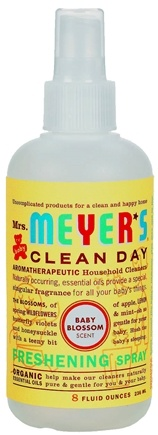 DROPPED: Mrs. Meyer's - Clean Day Freshening Spray Baby Blossom - 8 oz.