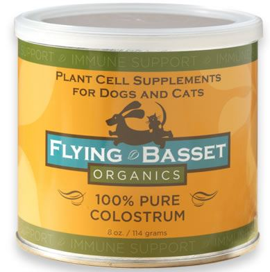 DROPPED: Flying Basset Organics - Immune Support 100% Pure Colostrum - 8 oz.