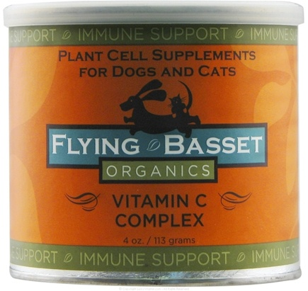 DROPPED: Flying Basset Organics - Immune Support Vitamin C Complex - 4 oz.