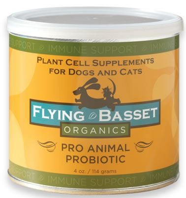 DROPPED: Flying Basset Organics - Immune Support Pro Animal Probiotic - 4 oz.