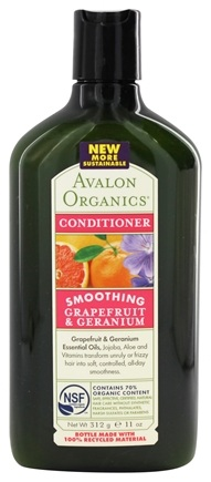 Avalon Organics - Bath & Shower Gel Grapefruit & Geranium - 12 oz.