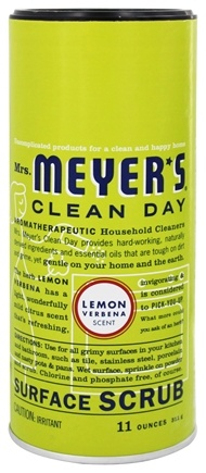 Mrs. Meyer's - Clean Day Surface Scrub Lemon Verbena - 11 oz.