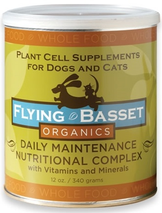 DROPPED: Flying Basset Organics - Whole Food Daily Maintenance Nutritional Complex With Vitamins And Minerals - 12 oz.