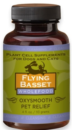 DROPPED: Flying Basset Organics - Cleansing Oxysmooth Pet Relief - 4 oz.