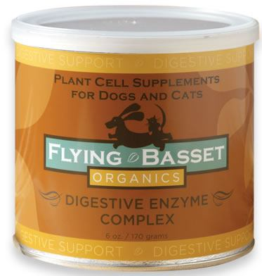 DROPPED: Flying Basset Organics - Digestive Support Digestive Enzyme Complex - 6 oz.