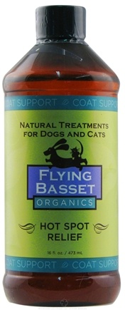DROPPED: Flying Basset Organics - Coat Support Hot Spot Relief Refill - 16 oz. CLEARANCE PRICED