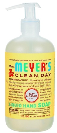 DROPPED: Mrs. Meyer's - Clean Day Liquid Hand Soap Baby Blossom - 12.5 oz. CLEARANCE PRICED