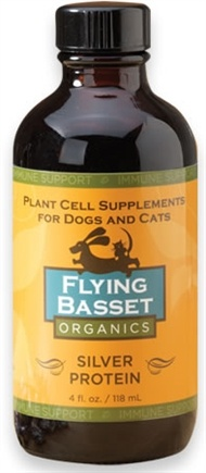 DROPPED: Flying Basset Organics - Immune Support Silver Protein - 4 oz.