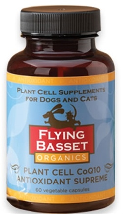 DROPPED: Flying Basset Organics - Antioxidant Plant Cell CoQ10 Antioxidant Supreme - 60 Vegetarian Capsules