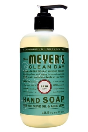 Mrs. Meyer's - Clean Day Liquid Hand Soap Basil - 12.5 oz.