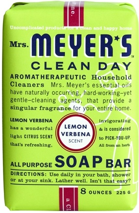 DROPPED: Mrs. Meyer's - Clean Day All Purpose Bar Soap Lemon Verbena - 8 oz.