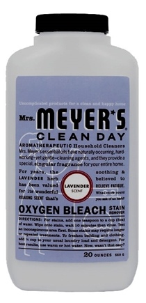 DROPPED: Mrs. Meyer's - Clean Day Oxygen Bleach Stain Remover Lavender - 20 oz.