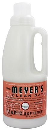 Mrs. Meyer's - Clean Day Fabric Softener Geranium - 32 oz.