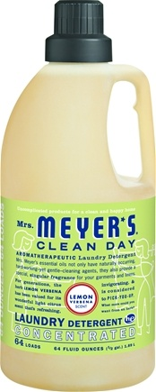 DROPPED: Mrs. Meyer's - Clean Day Laundry Detergent Lemon Verbena - 64 oz.