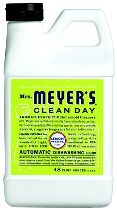 DROPPED: Mrs. Meyer's - Clean Day Automatic Dishwashing Liquid Lemon Verbena - 48 oz.