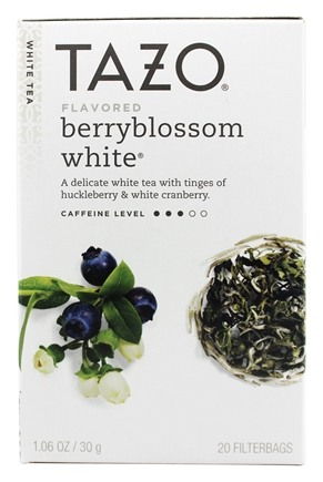 Tazo - White Tea Berryblossom - 20 Tea Bags