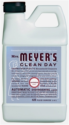 DROPPED: Mrs. Meyer's - Clean Day Automatic Dishwashing Liquid Lavender - 48 oz.