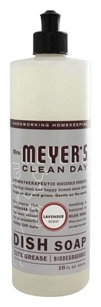 Mrs. Meyer's - Clean Day Liquid Dish Soap Lavender - 16 oz.