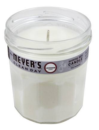 Mrs. Meyer's - Clean Day Scented Soy Candle Lavender - 7.2 oz.